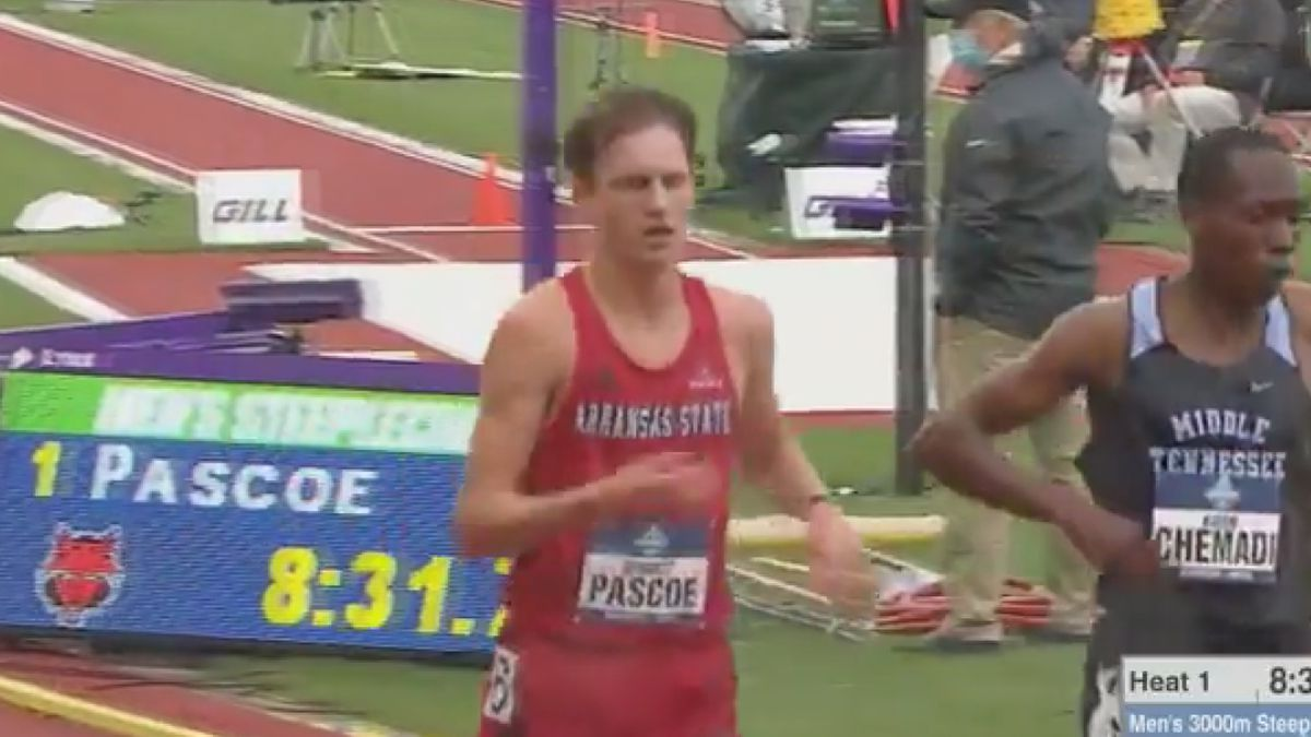Advances to NCAA Steeplechase finals and U.S. Olympic Trials