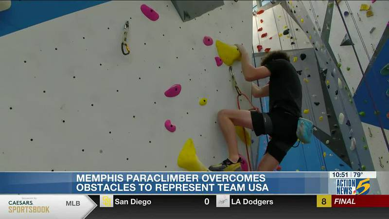 Overcoming obstacles: Paraclimber beats cancer, goes for gold on international stage