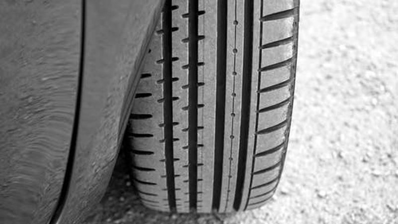 This is a photo of a vehicle tire.  (Source: Pexels/stock image)