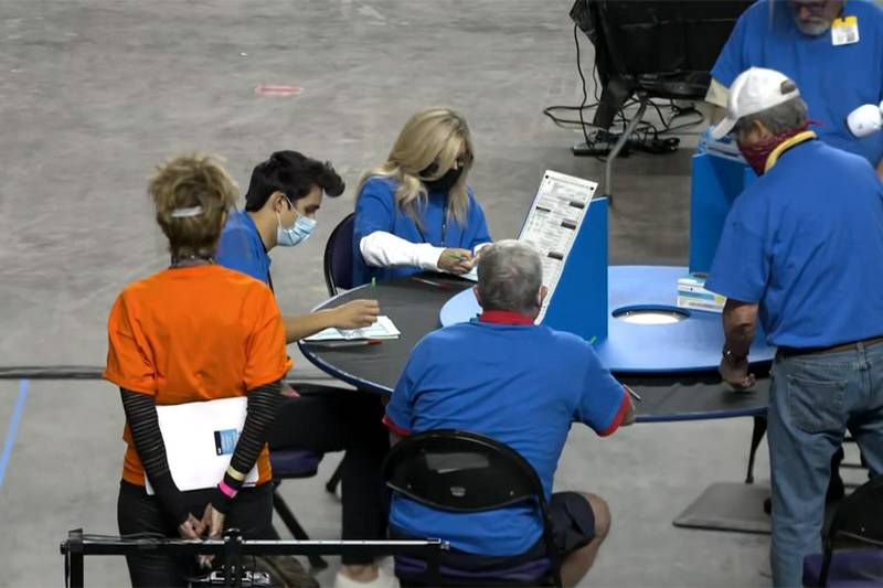 The unprecedented partisan review — focused on the vote count in Arizona's largest county,...