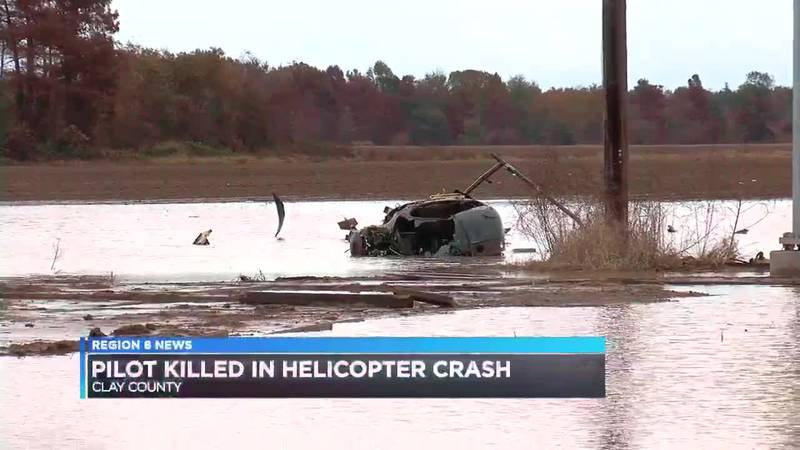 Clay County helicopter crash kills one