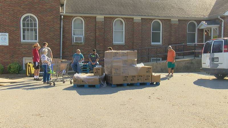 Food pantry gave out 40 fewer CSFP boxes