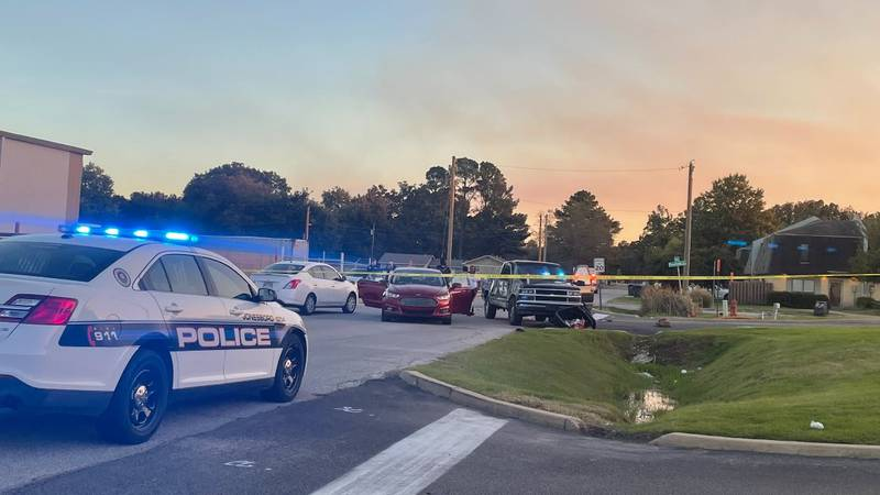 The Jonesboro Police Department Desk Sergeant confirms someone was shot in the right arm in the...