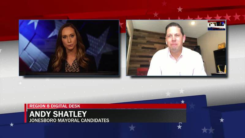 Interview with Jonesboro mayoral candidate, Andy Shatley