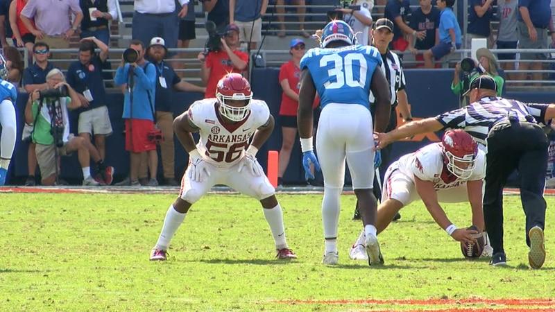 Jonesboro High alum Jashaud Stewart is getting more playing time with Razorback football. He...