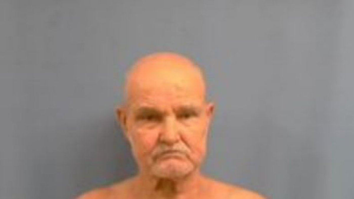 Louie Carl Rogers, 72, of Mountain View is charged with one count of rape.