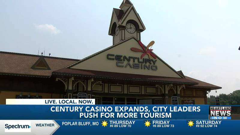 The Century Casino in Caruthersville, Mo. announced it will be expanding, including a hotel.