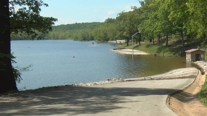 The People's Creek Recreation Area and it's lower camp ground at Wappapello Lake are still...