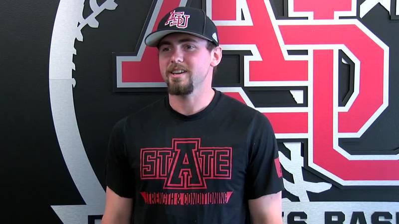 Arkansas State junior leads the Sun Belt in batting average.