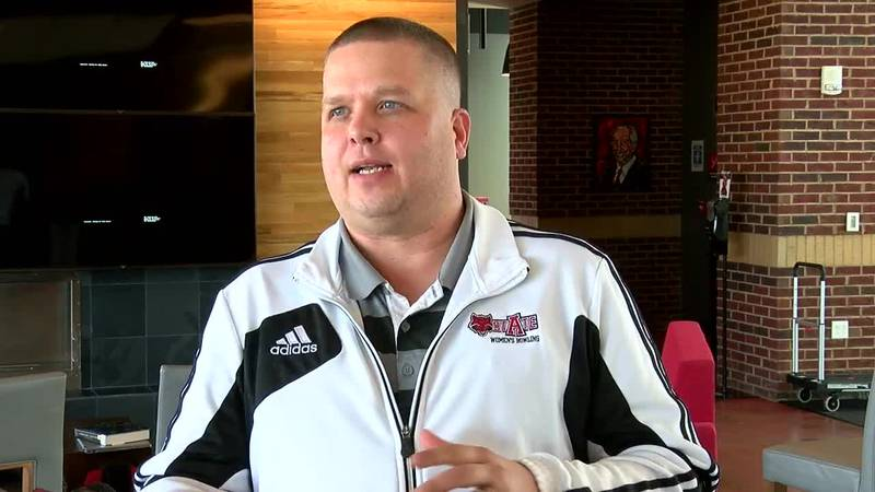Justin Kostick has served as Red Wolves bowling coach since the 2009-10 season.