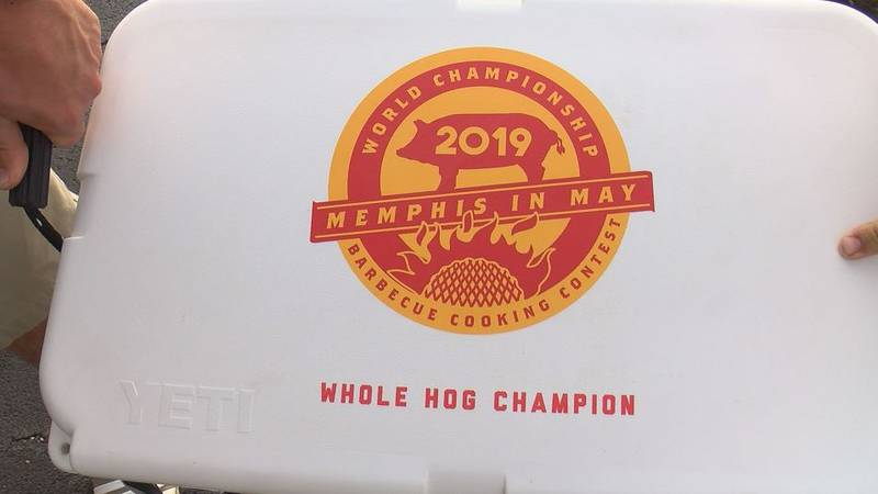 The Coast team, Hometown Barbecue, won the world championship in the whole hog  category at the...