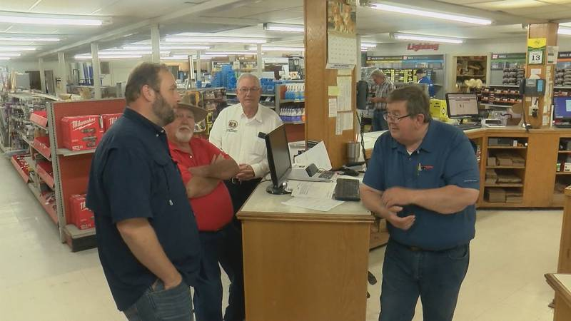 We caught up with Jason Smith on Friday morning, August 13 at the Gamblin Lumber Company in...