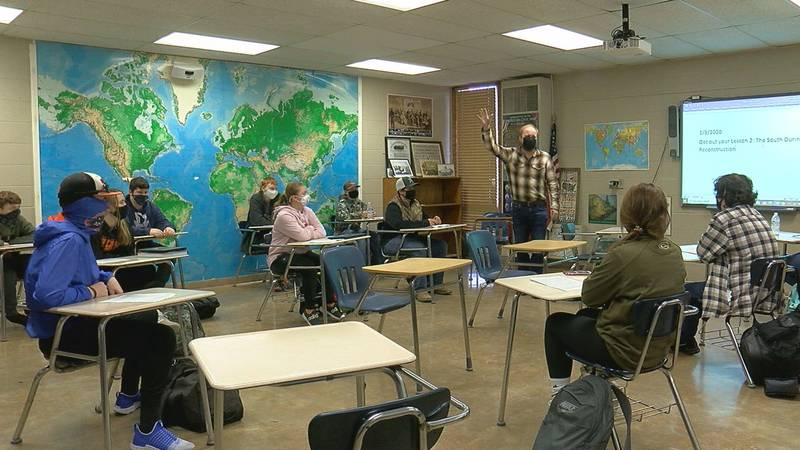 Teachers at Walnut Ridge School District didn't shy away from discussing the deadly riot at the...