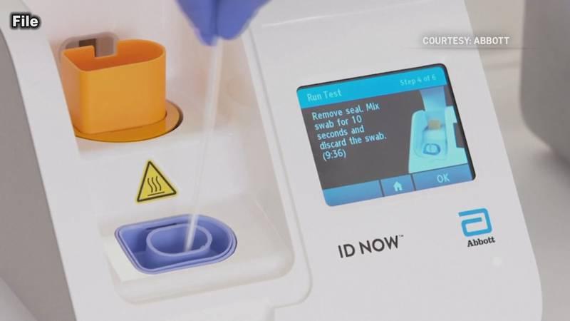 Health Department receives rapid COVID testing machine