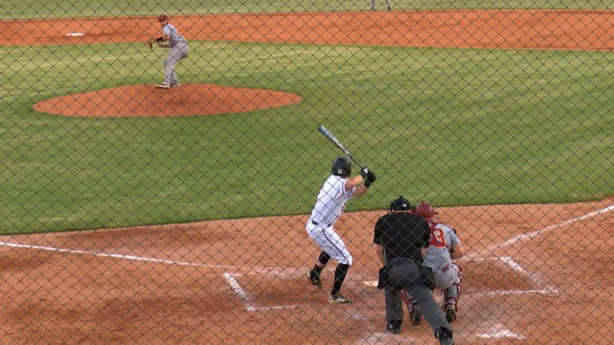 Arkansas State senior Drew Tipton hit a 2 run HR Thursday in a 12-6 win over ULM.