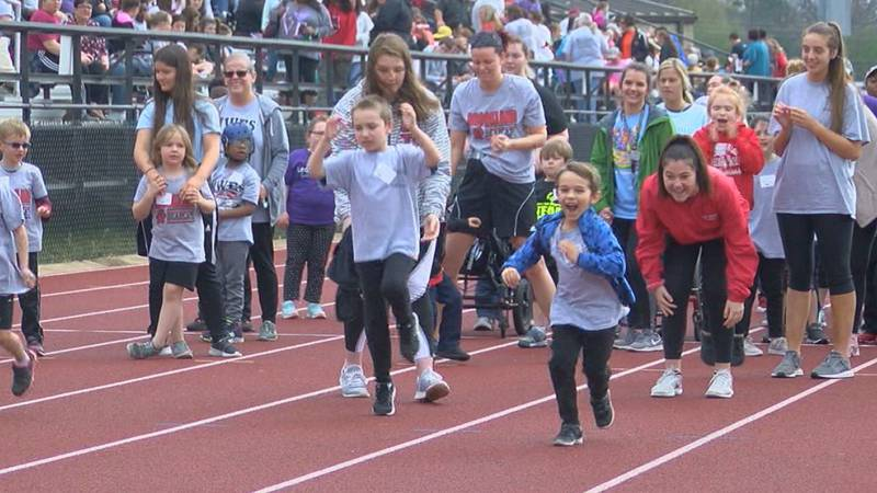 students from 30 Region 8 schools came out to compete