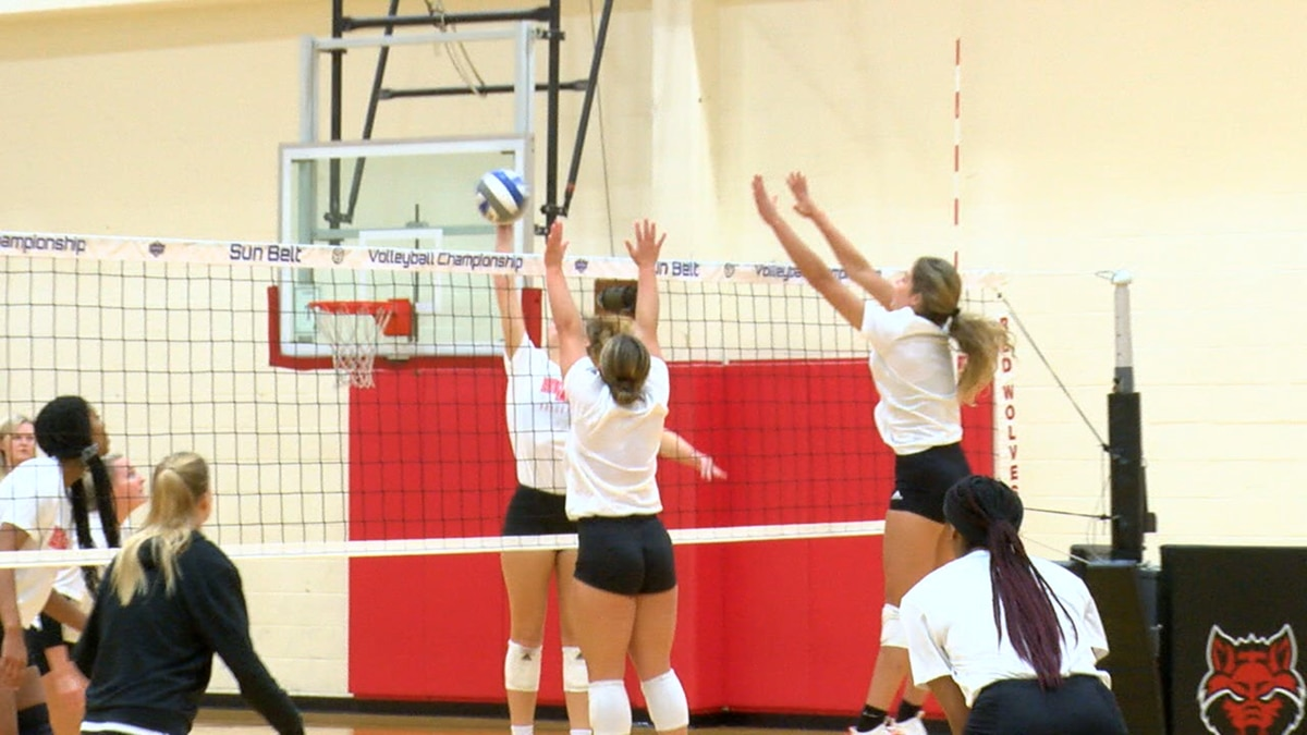 The Red Wolves practiced Wednesday afternoon at the HPESS.
