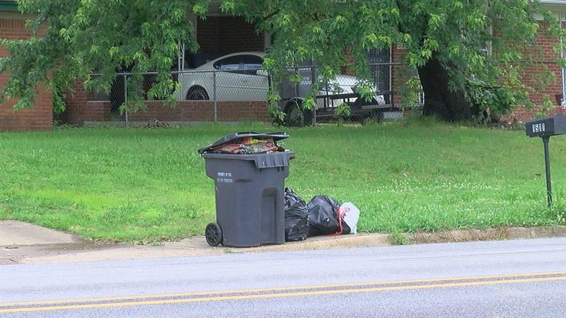 Jonesboro sanitation department behind in trash pick up
