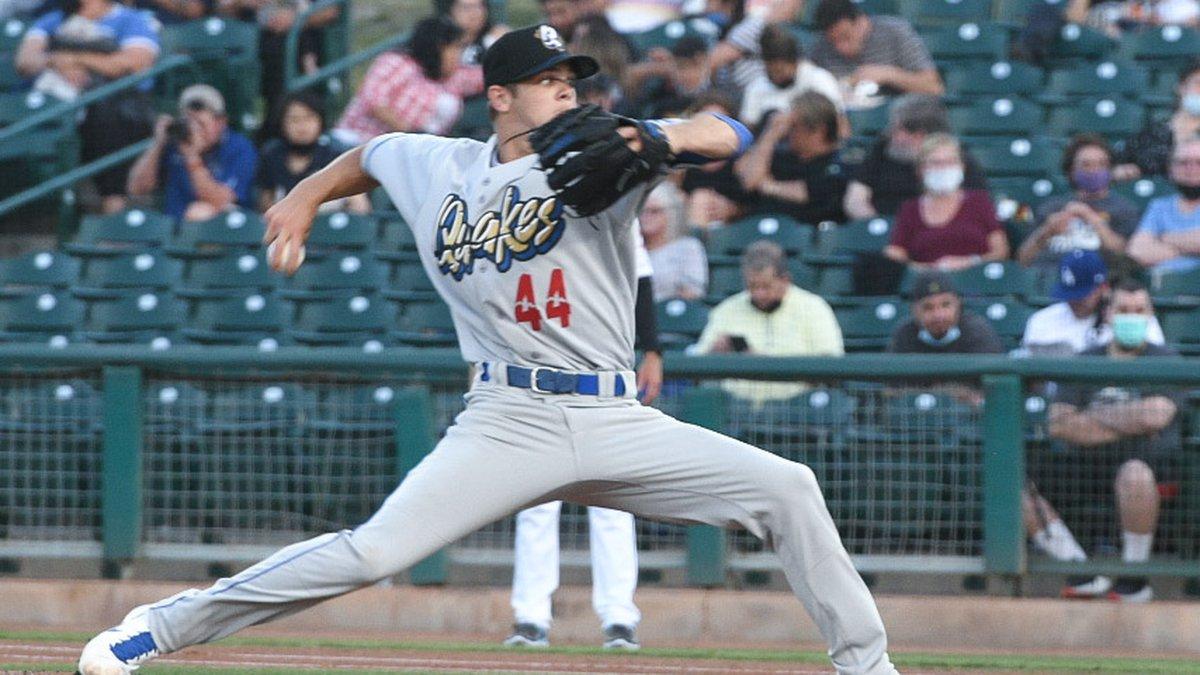 Riverside & UCA alum Gavin Stone is in the minor leagues in the Dodgers system.
