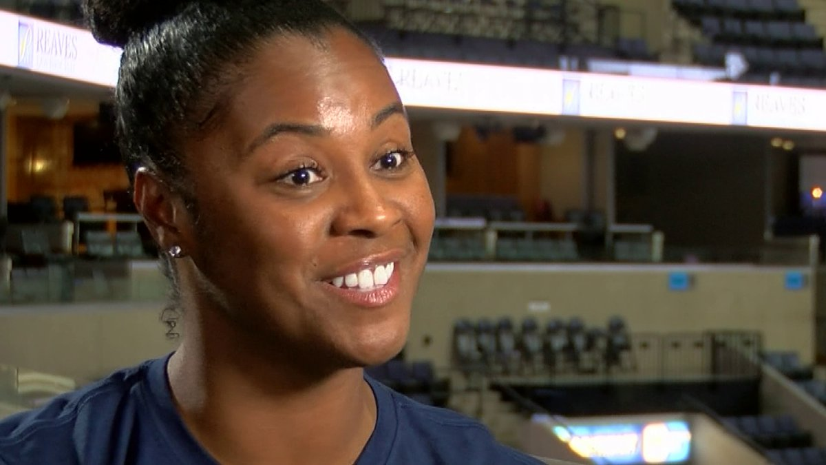Grizzlies blazing a new trail this season with team's 1st female assistant coach