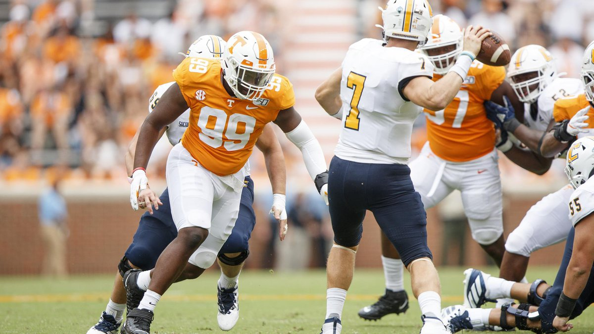 Former Tennessee DL John Mincey committed to Arkansas State on Tuesday.