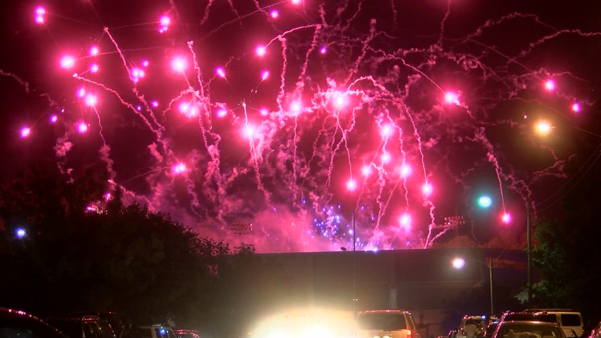 Many fireworks shows have been canceled because of the pandemic.