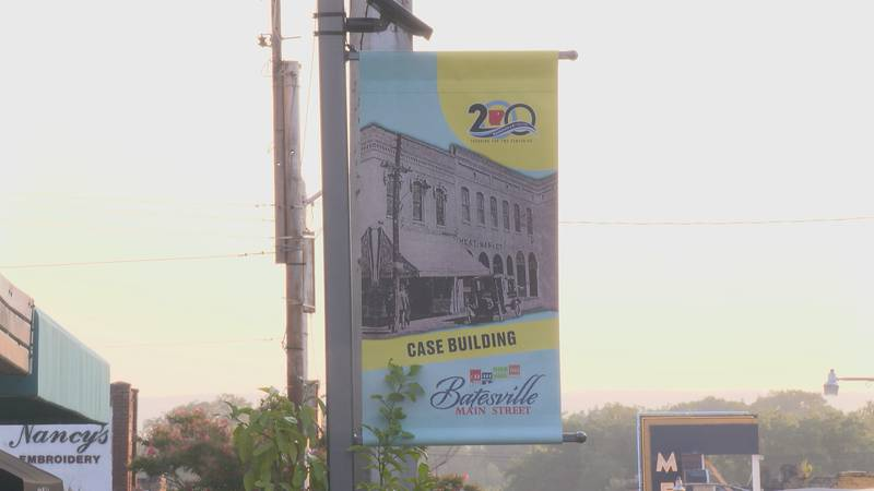 The City of Batesville will have an entertainment district. That means folks get to walk around...