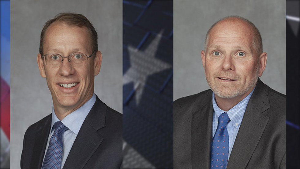 Cole Peck and Jon Milligan will face off in a runoff election on March 31.