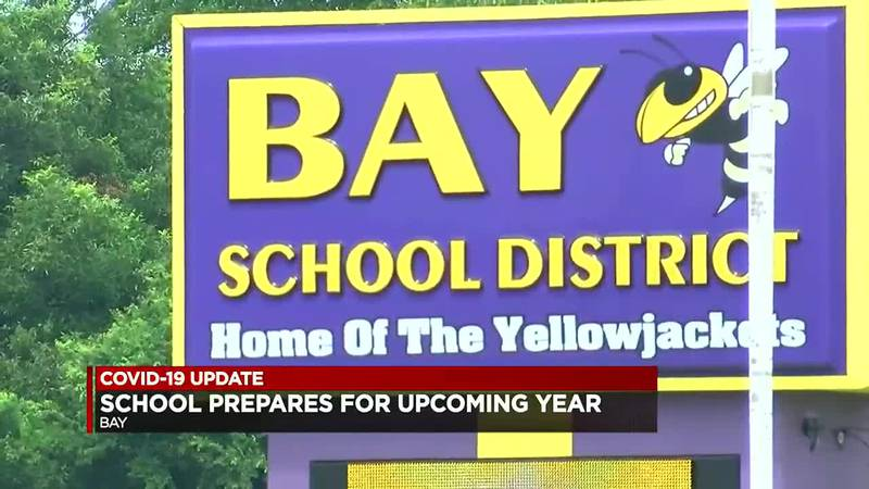 Bay School District prepares for students to return.