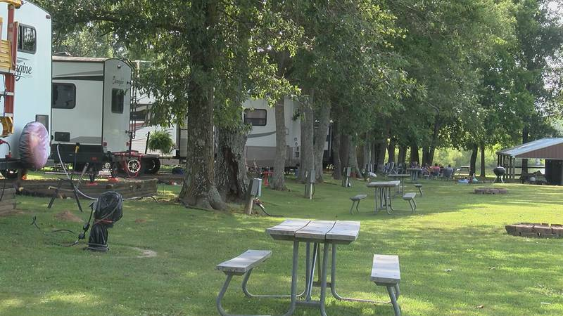 Campgrounds are filling up during the pandemic