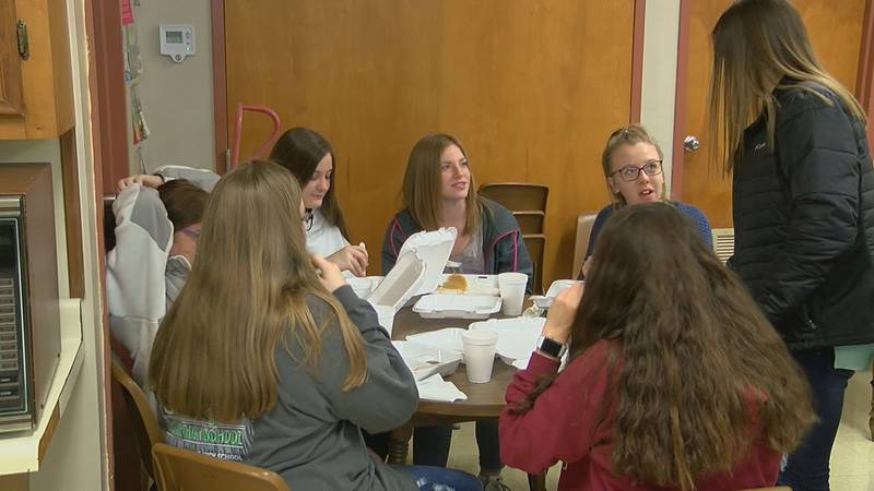 A breakfast fundraiser was held Friday to help students impacted by a school bus crash this week.