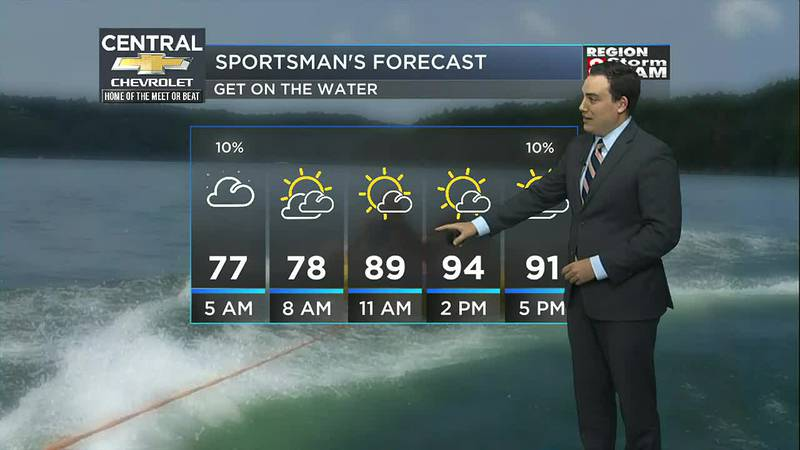 Zach's Thursday Evening Forecast (7/29)