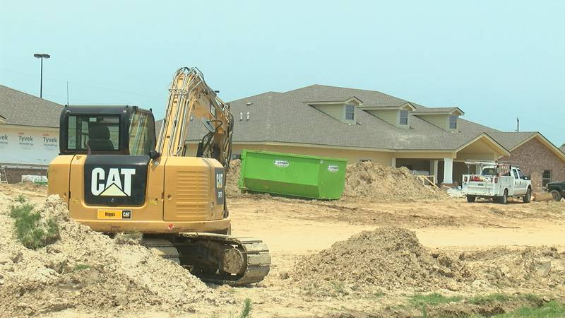 Southern Administrative Services says the houses are on the final stages of construction.