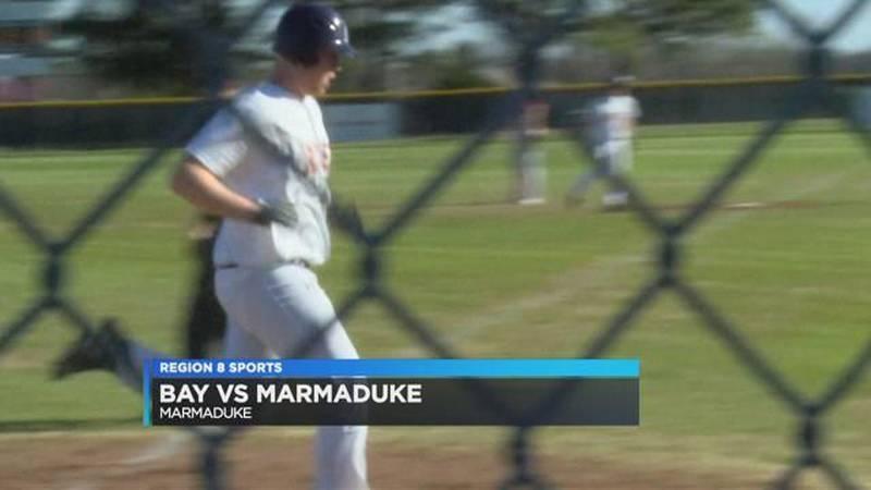 Bay Baseball Crushes Marmaduke 22-0
