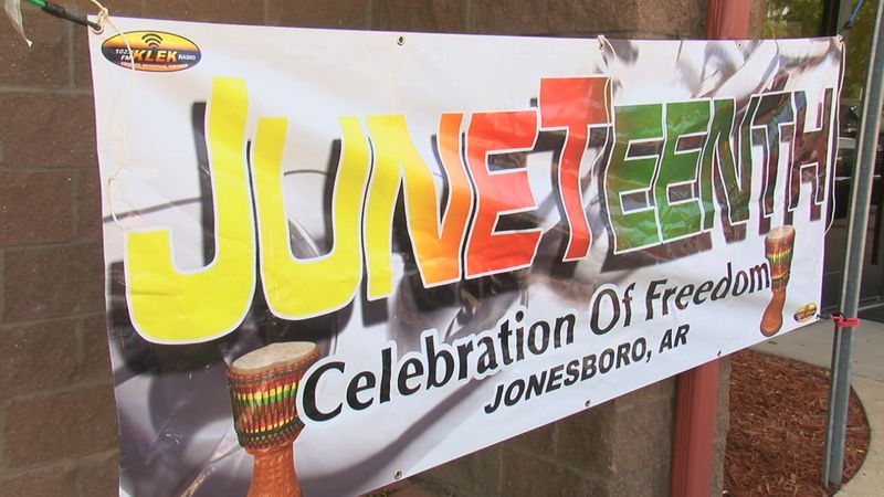 The event was held by KLEK and the city of Jonesboro Saturday morning at Parker Park.