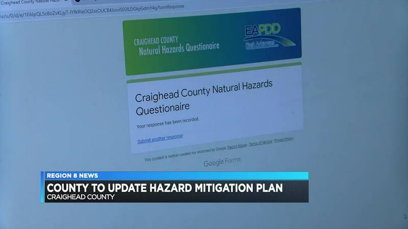 County asking for public feedback for Hazard Mitigation Plan