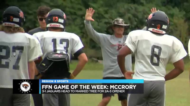 Jaguars prepare to face Marked Tree in FFN Game of the Week