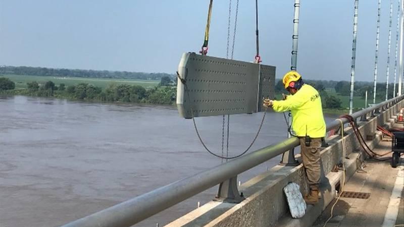 TDOT I-40 bridge update July 23