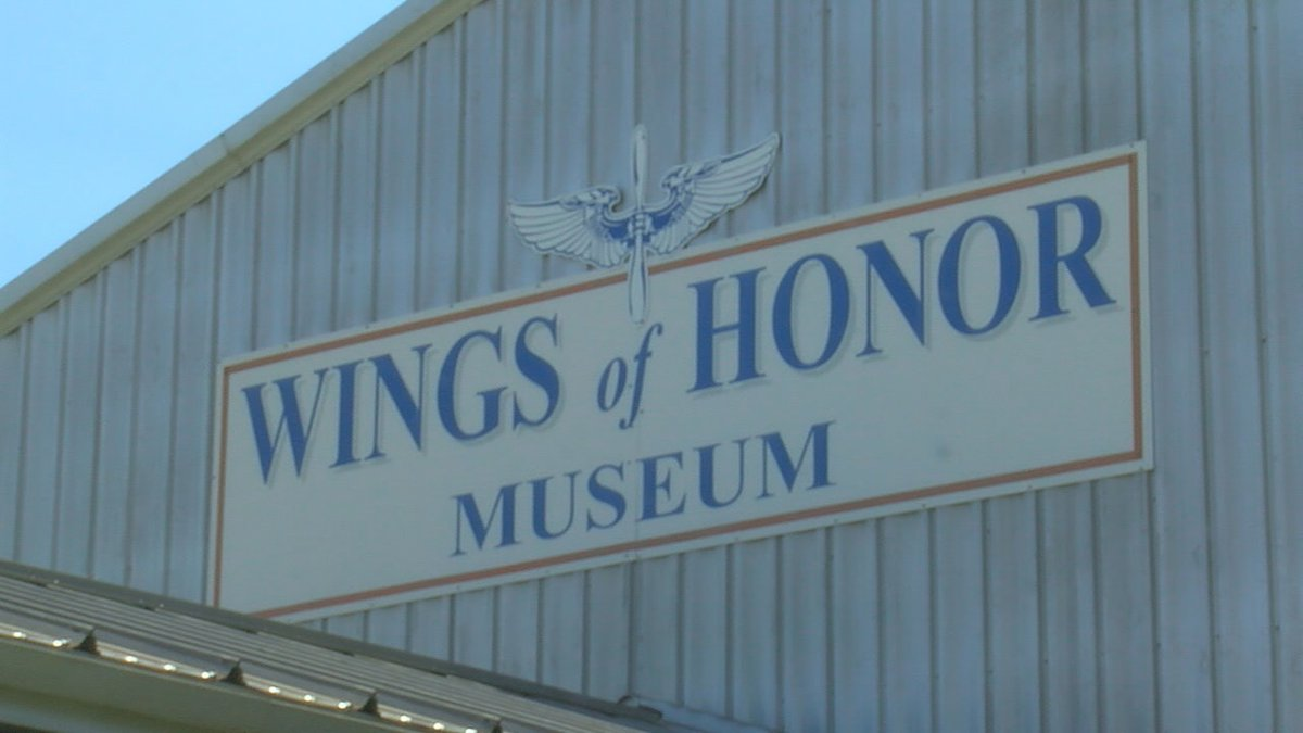 The Wings of Honor Museum is located in Walnut Ridge.