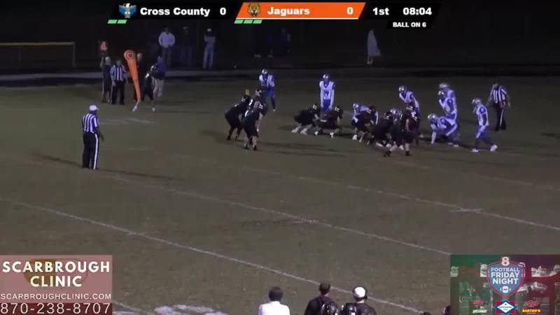 McCrory beats Cross County to move to 7-1