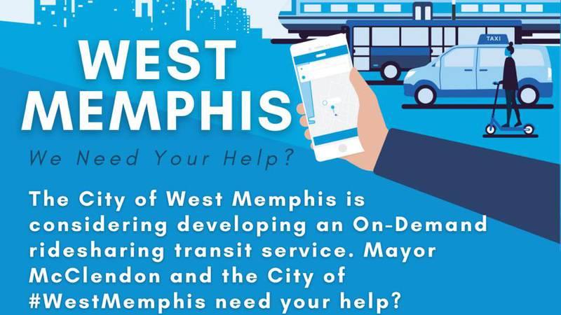 City of West Memphis asks for public input on transit survey