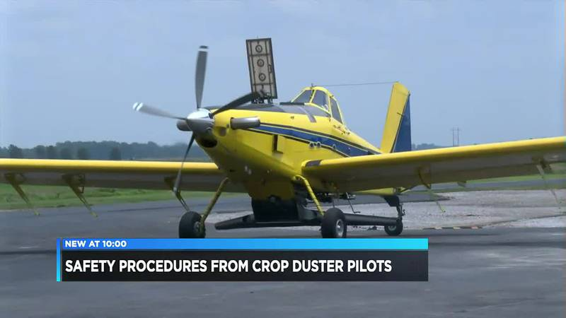 Agricultural pilot talks crop dusting safety after series of crashes in region