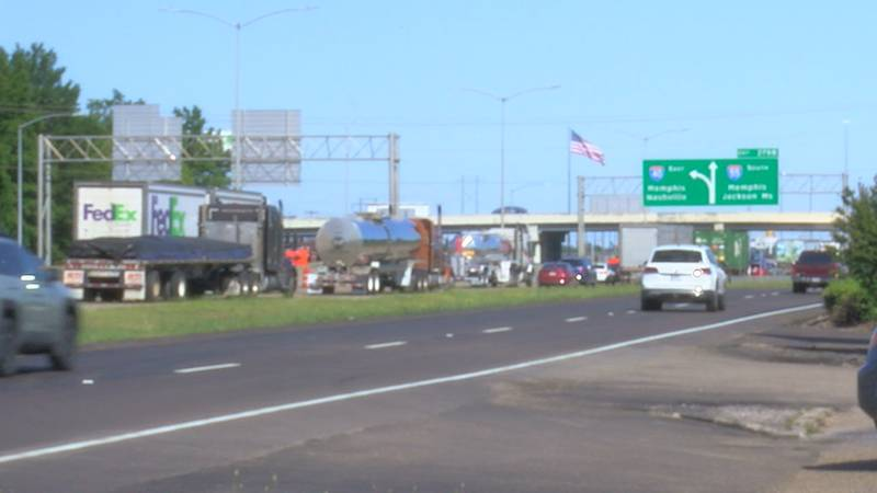 The first steps in repairing the I-40 bridge have begun, according to ARDOT officials.