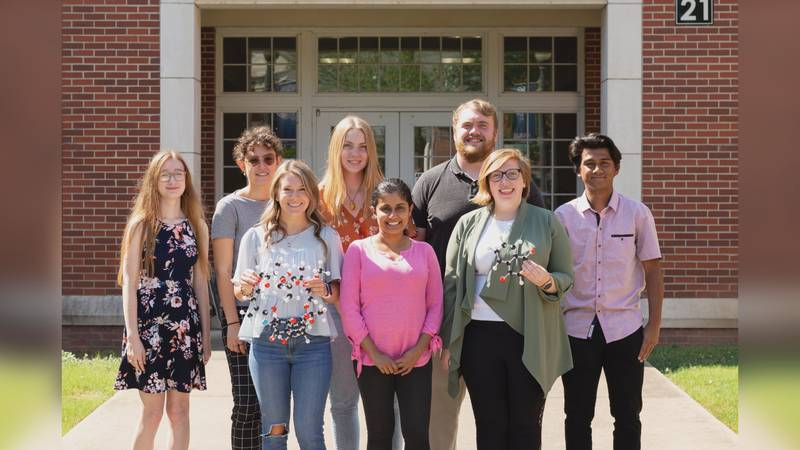 The students will travel to Puerto Rico next month to present their research.