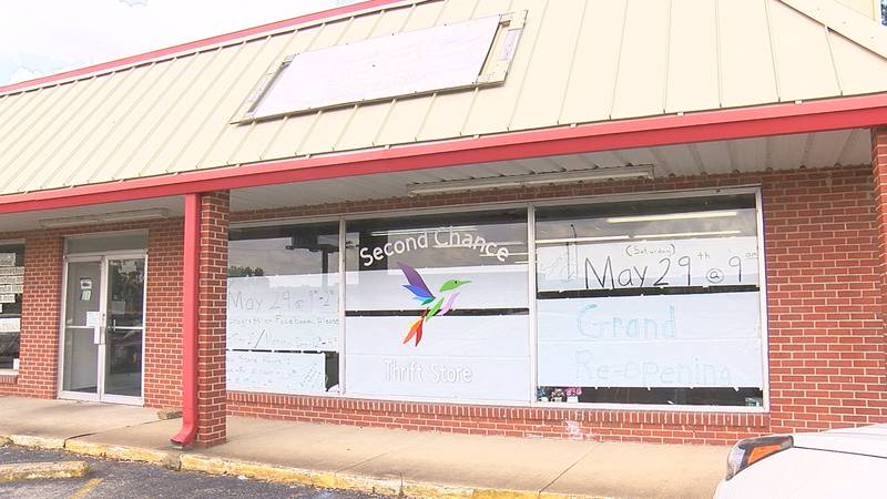A thrift store benefiting the Second Chance Domestic Violence and Sexual Assault Shelter will...