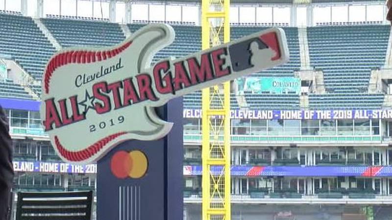 The 2019 MLB All Star logo (Source: WOIO)
