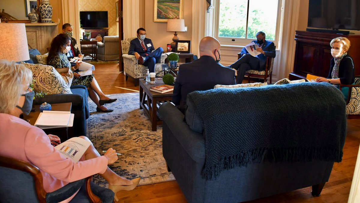 Governor Parson and his staff met with Dr. Deborah Birx for an informal meeting on Tuesday...