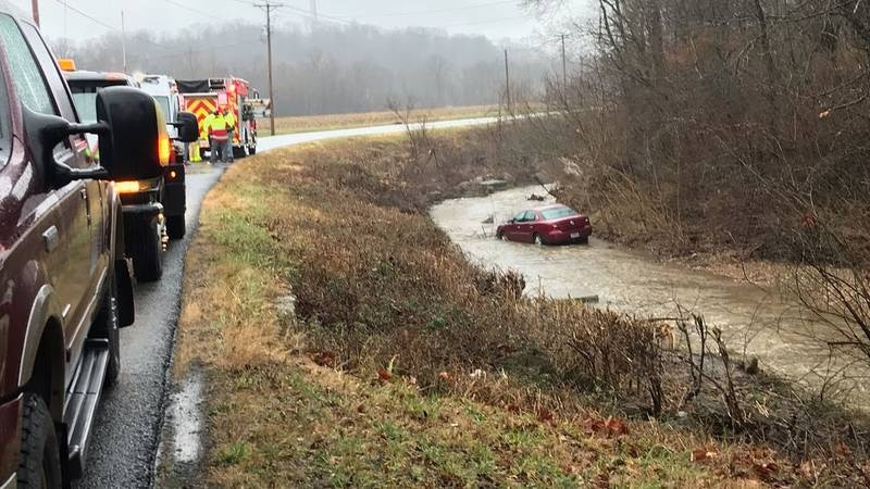 According to the East County Fire Protection District, a driver lost control of her car on CR...