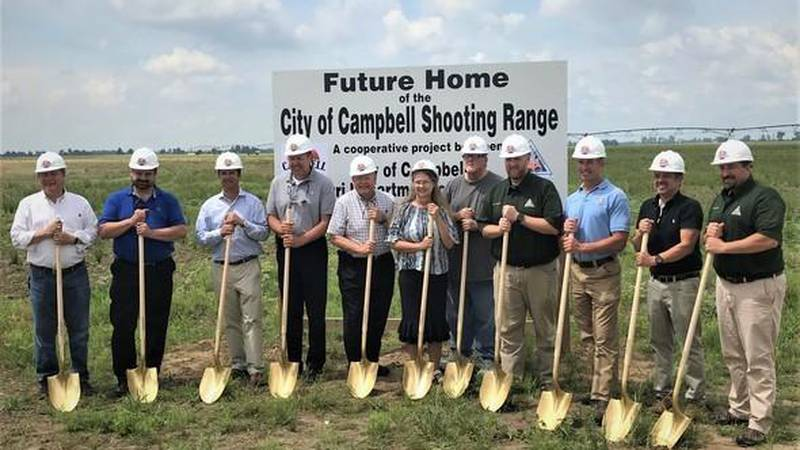 The Missouri Department of Conservation dedicated the future site of a target shooting range in...