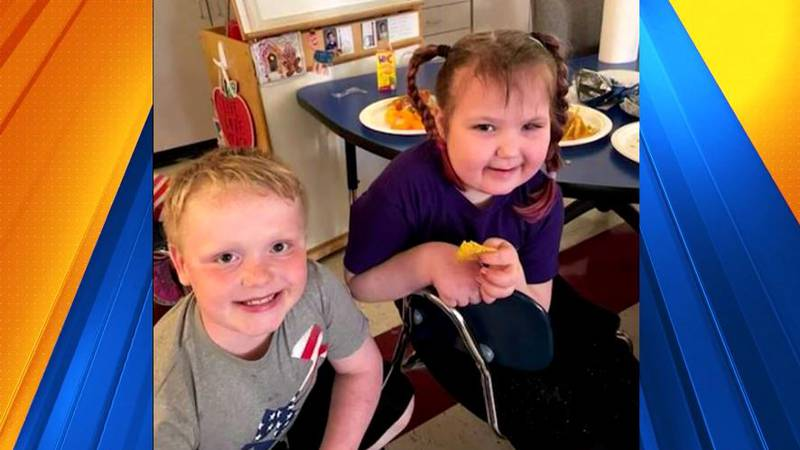 Jesse Starr, 8, and Claire Calvin, 7, are best friends. To help with Claire's cancer treatment,...